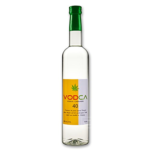 VODCA - Vodka + Cannabis - 50 cl - 40% - Wodka