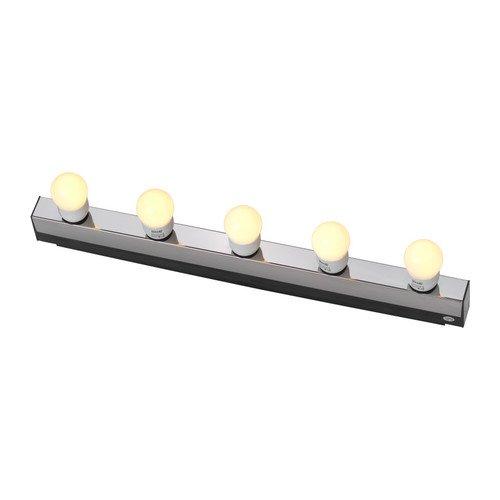 IKEA MUSIK - Lámpara de pared, cromado