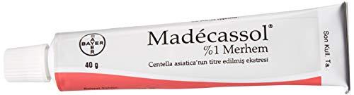 Madecassol 2.8oz 40g Centella Asiatica Gotu Kola Cream Scleroderma Scar Wound