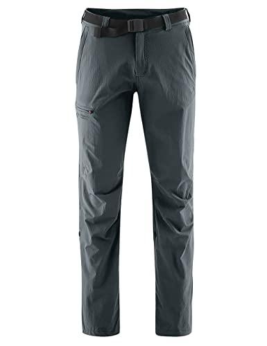 Maier Sports Wanderhose Roll-up Nil 132001, Pantaloni Funzionali Uomo, Grigio (Graphite 949), 64