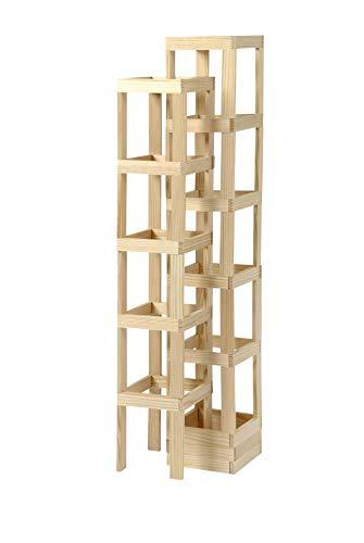KAPLA-Holzbaukasten 200 Steine - 4