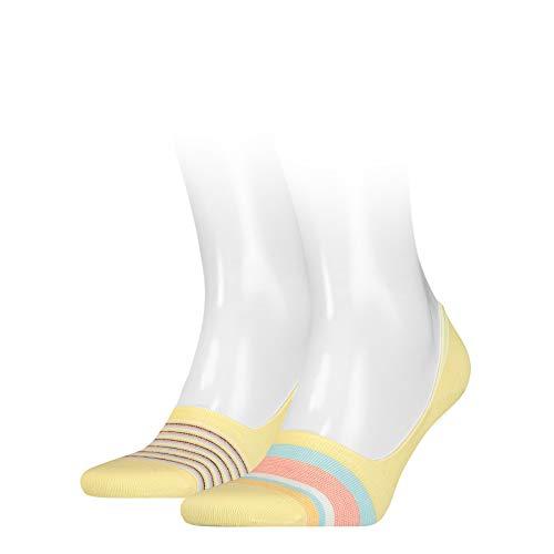 Levi's Micro Stripe Low Rise Socks (2 Pack) Calcetines, varios colores, 43-46 Unisex Adulto