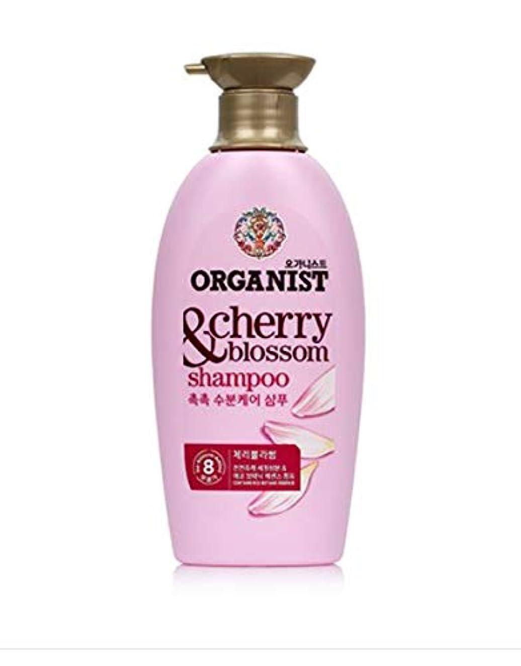 洗練乗算シリングオーガニスト (ORGANIST)チェリーブロッサムシャンプー500ml/ ORGANIST Cherry Blossom Hydrating Shampoo 500ml [並行輸入品]