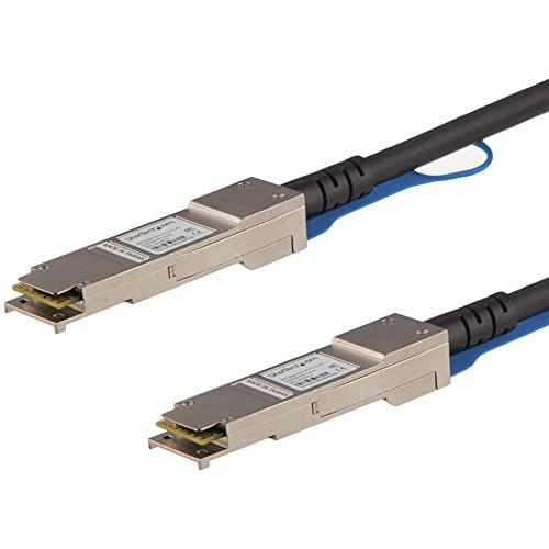 StarTech.com Cisco QSFP-H40G-ACU10M Compatible 10m 40G QSFP+ to QSFP+ DAC Twinax - 40G QSFP+ Copper DAC 40 Gbps Low Power Active Transceiver Module DAC Firepower ASR1000 (QSFPH40GAC10)