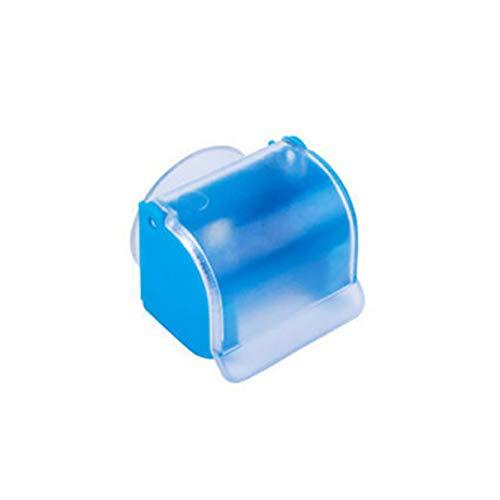 anruo 3 stks Tricolor mannen Sucker herbruikbare waterdichte huishoudelijke scheermes houder badkamer opslag scheerapparaat houder