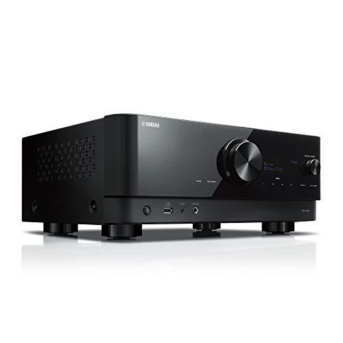{ヤマハ AVレシーバー RX-V6A(B) 7.1ch Dolby Atmos/DTS:X/4K120Hz/Amazon Music/Amazon Alexa/ 黒鏡面仕上げのシンプルデザイン ブラック}