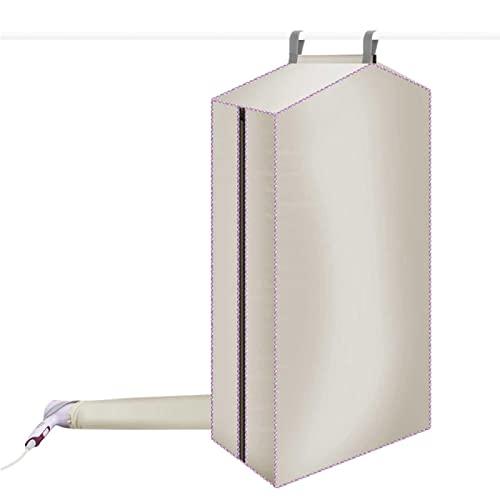N-X Secador de ropa portátil, Secador plegable para apartamentos, Viaje eléctrico secador de la máquina hogar apartamento ropa secadora cubierta