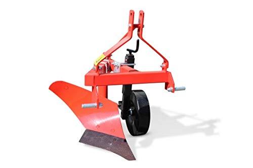 Wallentin & Partner | Einscharpflug | 1 Schar Pflug 20 cm | Pflug Kleintraktor ab 12 PS | Einschariger Pflug 40 kg | Einschariger Pflug Traktor Dreipunktanbau Kat. 1