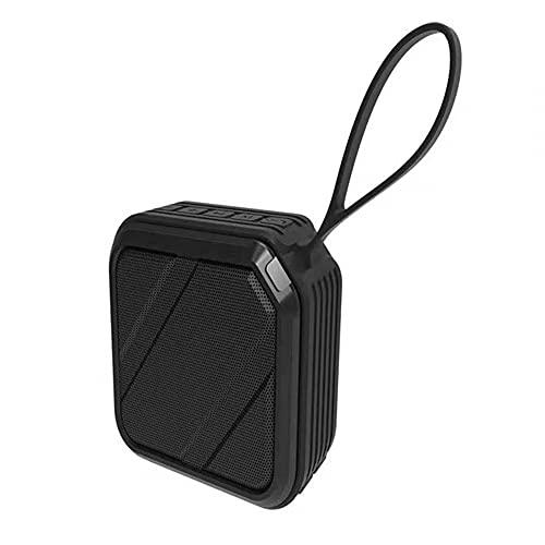 MiOYOOW Altavoz Bluetooth para bicicleta, altavoz inalámbrico Bluetooth con cordón portátil de viaje para equitación, senderismo y camping