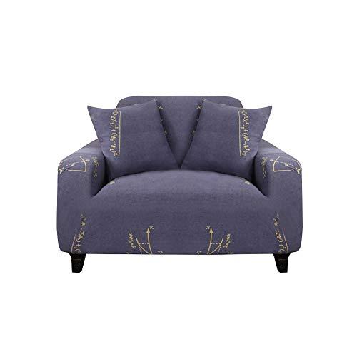 Fiaoen - Funda elástica universal para sofá, todo incluido, funda de cojín ajustada, fácil ajuste, lavable, antiácaros y clásico