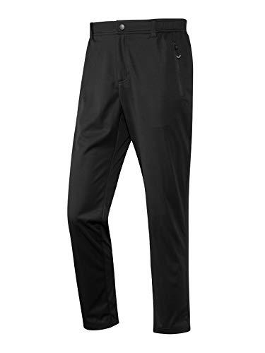 Joy Sportswear MIRO Herren Freizeithose, Jogginghose aus Softshell-Material ideal für sportliche Aktivitäten im Freien Kurzgröße, 27, Black