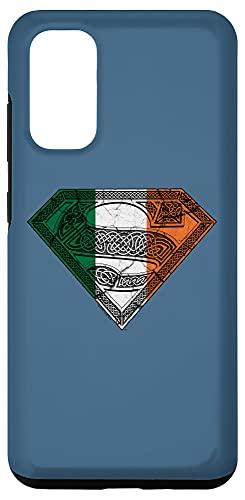 Galaxy S20 Superman Irish Celtic Shield Case
