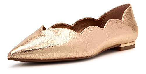 Katy Perry Women's The Hava Ballet Flat, ROSE GOLD, 6