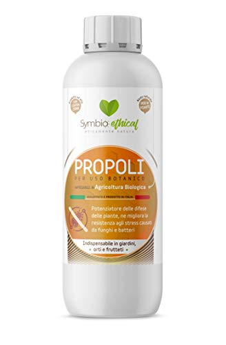Symbioethical Propolis - 500 gr - High Concentration - Natural enhancer of plant defenses - Organic Agriculture