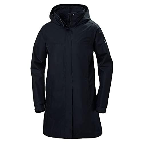 Helly Hansen Aden Longue Impermeabile Veste d'hiver Femme, Bleu (Navy), L