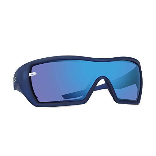 gloryfy unbreakable eyewear Gloryfy - Gafas de sol unisex irrompibles (G18 Navy) irrompibles, para hombre, mujer, sin marco, color azul