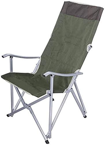Silla plegable portátil para acampar plegable ocio al aire libre Silla de camping, sillas plegables ultraligeras portátiles compactas en una bolsa de excursionismo, camping, playa, pesca, picnic