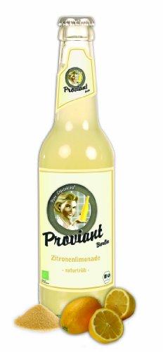 12 Flaschen Proviant Zitronenlimonade 330 ml Bio Zitrone inclusive 0.96€ MEHRWEG Pfand
