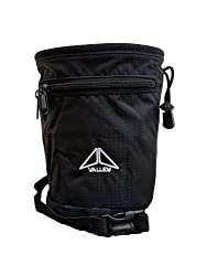 KMSports Rock climbing chalk bag - black