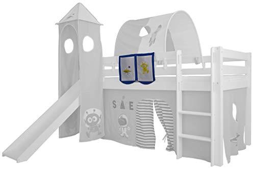 XXL Discount Sac de Jeu pour lit d'enfant 100% Coton 55 x 40 cm