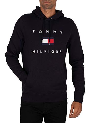 tommy hilfiger flag hoodie men