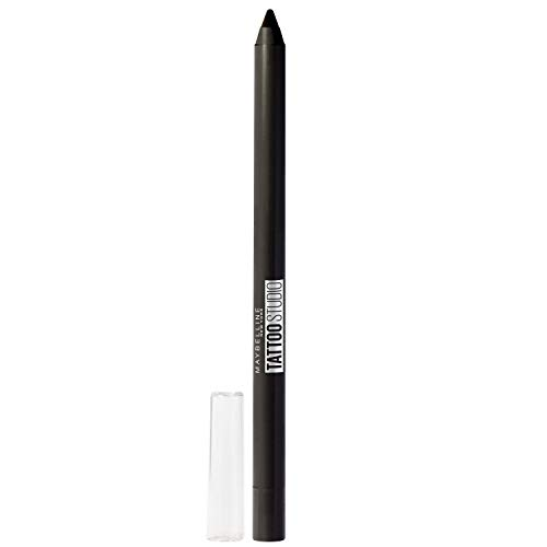 Maybelline New York Tattoostudio Waterproof, Long Wearing, Eyeliner Pencil Makeup, Deep Onyx, 0.04 Ounce