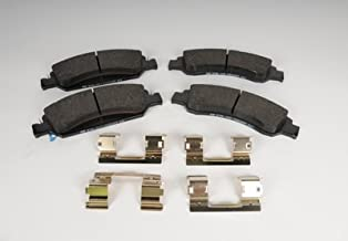 ACDelco 171-1014 GM Original Equipment Front Disc Brake Pad Set with Clips