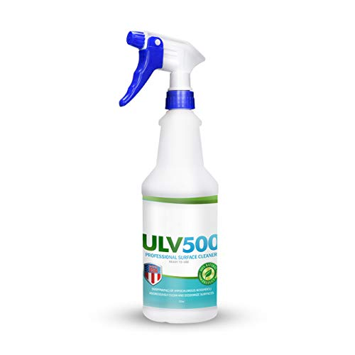 Hypochlorous Acid ULV500 500PPM (32 Fl Oz) For Dental And Medical Professionals, All Natural HOCL Surface Cleaner For ULV Foggers, PetraTools