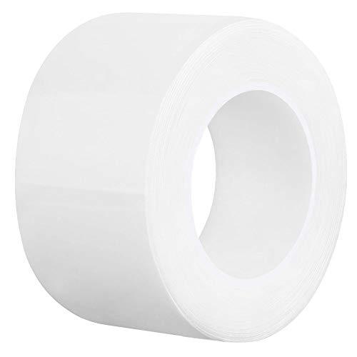 Caulk Tape White 2 Inch x 33Feet, Waterproof PMMA Caulking Strip Self Adhesive for Kitchen Sink Bathtub Bathroom Shower Toilet