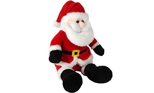 DODO D'AMOUR 193736-25 cm - Peluche a Forma di Babbo Natale, Colore: Rosso e Bianco da 12 Mesi, 193736