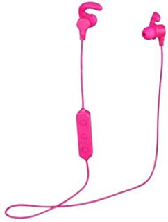 ONN Bluetooth in-Ear Headphones with Built-in Microphone (Pink)