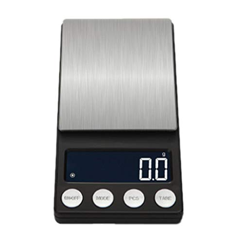 Küchenwaage Digitalwaage Professionelle Waage Electronische Waage, 300g * 0.01g Digitale Waage, LCD-Display, ideal zum Messen von Edelmetalle, Schmuck, Edelsteine, Medikamente
