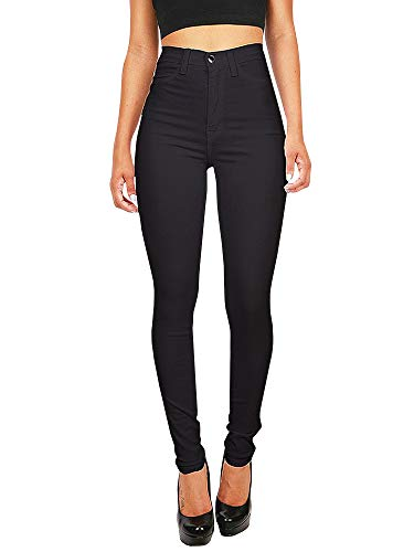 Gemijacka Damen High Waist Skinny Dünn Jeans
