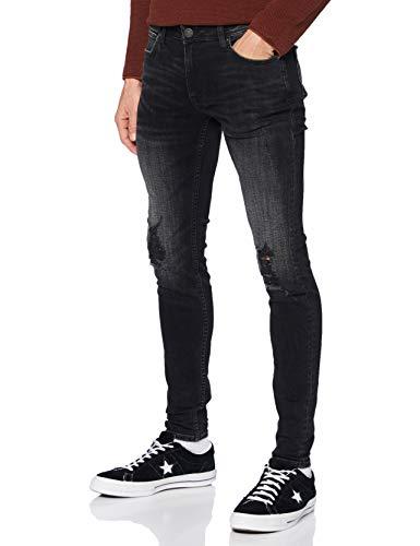 Jack & Jones Jjitom Jjoriginal Am 192 Tc120 Jeans, Denim Noir, 29/34 Homme