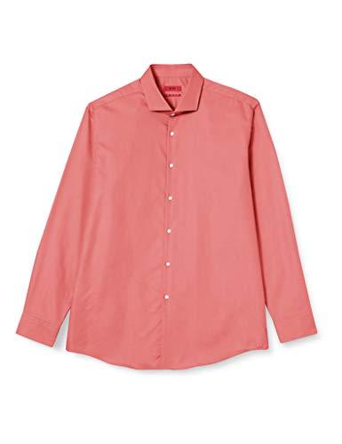 HUGO Kason 10231512 01 Camicia, Open Pink693, 40 Uomo