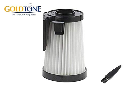GoldTone Replacement HEPA Vacuum Filter Fits Eureka Vacuum Cleaner. Replaces Your Eurkea DCF-10 & DCF-14, DCF14, DCF10, 62731A, 62731B. Fits: 430 Series Uprights & Stick Vacuum 431A, 426A, 431AX.