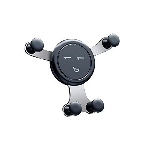 USNASLM Soporte de teléfono para coche con gravedad, para teléfono en el coche, clip de ventilación de aire, sin soporte magnético para teléfono móvil, soporte GPS