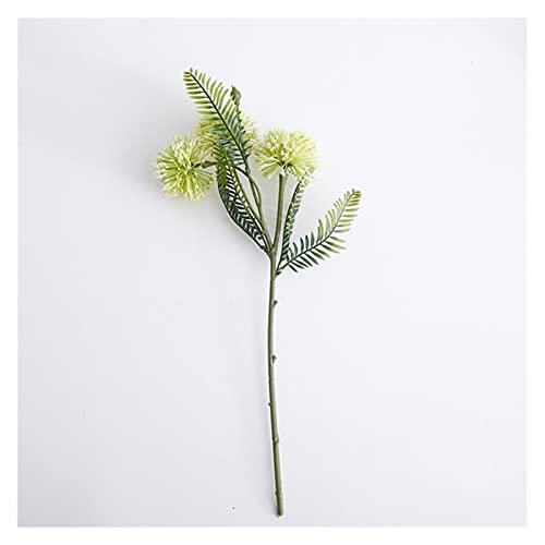 Künstliche gefälschte Blumen, 44cm künstliche grüne Pflanze Dorn Schwanz Zwiebeln, für DIY Blume Home Garten Hochzeit Topf Blume Anordnung Fotografie Dekoration Ornamente fallen topf (1 stücke) Realis