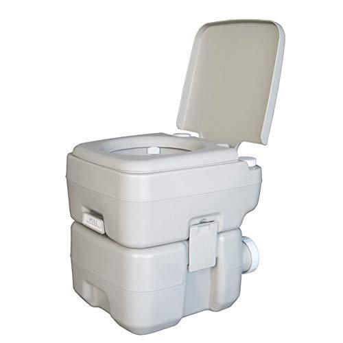J.W. Tragbare Reisemobil Toilette Adult Home Outdoor Camp Kommode WC 20L Flush Loo komfortable Chemietoiletten für Autogarten Zelt Caravan Boat Finishing