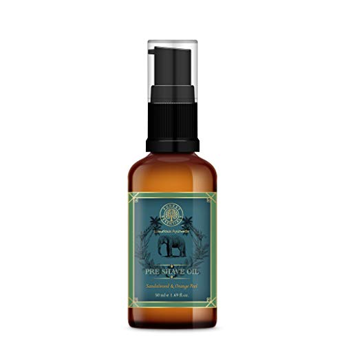 Forest Essentials Pre Shave Oil Peel, Sandalwood and Orange, 50ml