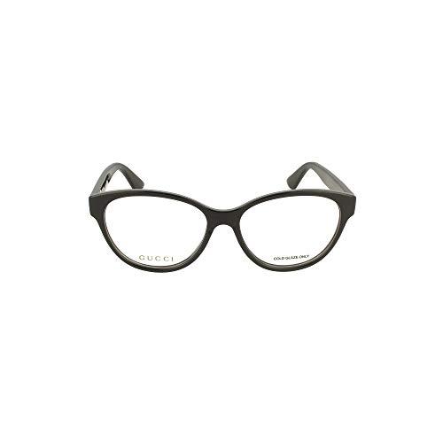 montatura occhiali da vista donna gucci Gucci Occhiali da vista GG0633O BLACK 54/16/145 donna
