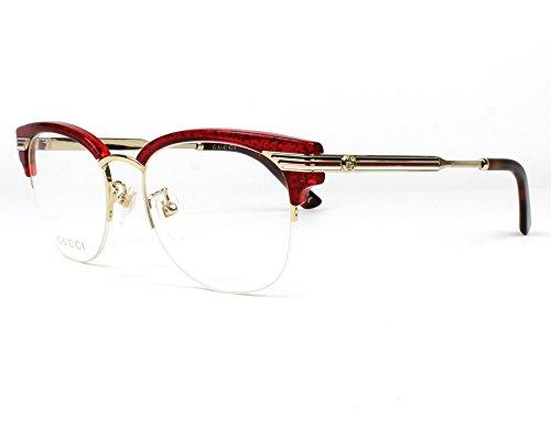 Gucci Occhiali da Vista GG0201O Rosso