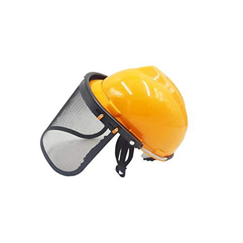 Hemoton Kettingzaag Veiligheidshelm Met Vizier Combo Set Bosmaaier Veiligheidsvoorziening Voor Tuinieren Helm