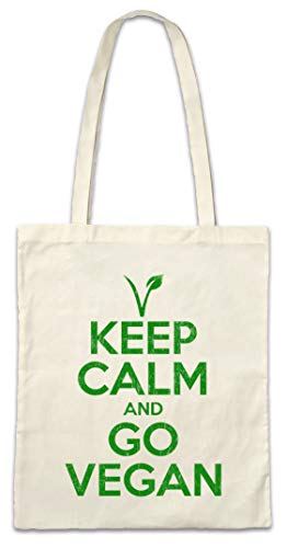 Urban Backwoods Keep Calm And Go Vegan Boodschappentas Schoudertas Shopping Bag
