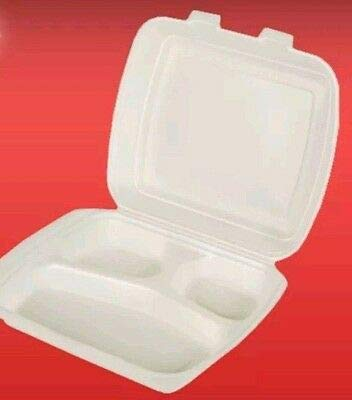 Ol-Gastro-Bedarf 125 Menüteller 3-geteilt Menüschalen Menübox Klappbox Klappschale