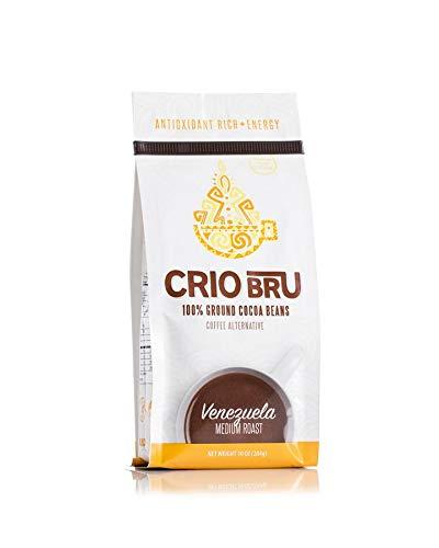 Crio Bru Venezuela Medium Roast Herbal Tea Coffee Alternative Substitute 99% Caffeine Free Whole-30 Gluten Free Honest Low Calorie Energy Boost (10oz)