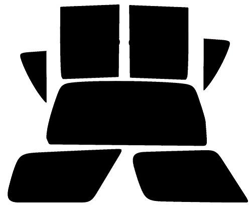 3años de garantía (cuando se instala profesionalmente) Pre Cortada a sus ventanas, por lo que no hay necesidad de cortar Resistente a los arañazos–Excelente Calidad Tipo de montaje: Sun tira (parte superior de pantalla de la ventana delantera) Fác...
