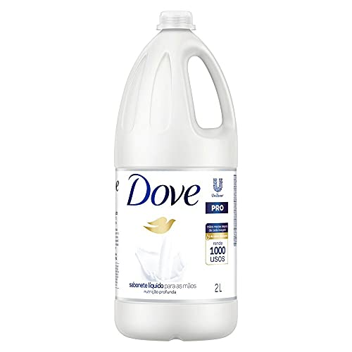 Sabonete Líquido Nutrição Profunda para as Mãos Dove Pro Frasco 2l, Dove