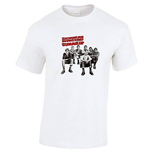 SHUIQI Symarip(T Shirt) Skinhead Moonstomp Revisited-White-Medium