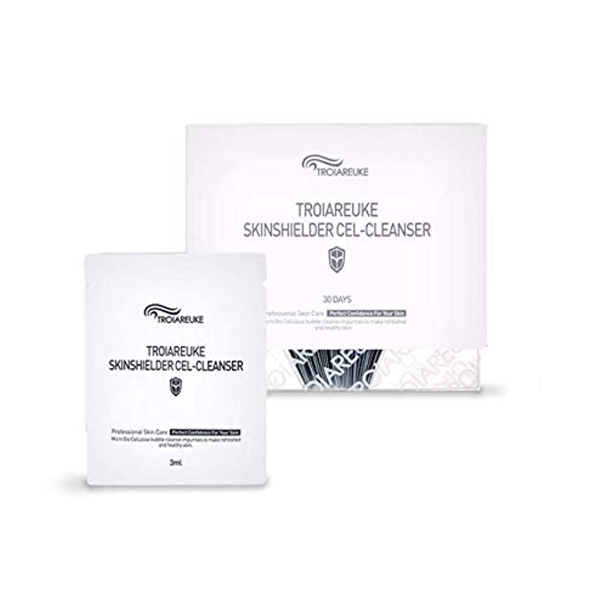 瞳分析免疫TROIAREUKE (トロイアルケ) スキン シールダー セル クレンザー  / Skinshielder Cel Cleanser (30ea) [並行輸入品]
